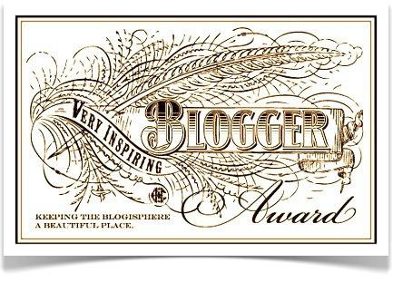 20140726 - Very Inspirational Blogger Award
