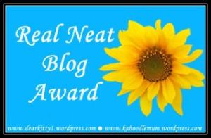20150418 - The Real Neat Blog Award